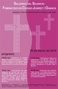 cartel festival 5 de marzo 2010 curvas