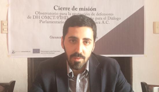 VIDEO: Miguel Zumalacárregui, director de la oficina en Bruselas de la OMCT