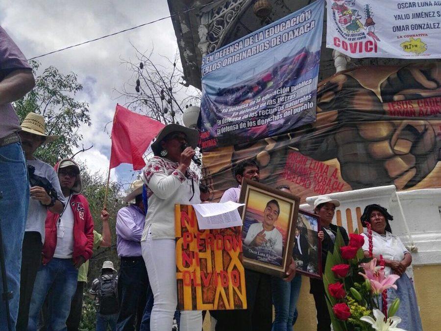 """Damián Gallardo: A un año del ataque armado en Nochixtlán, """"¡ni perdón ni olvido!"""""""