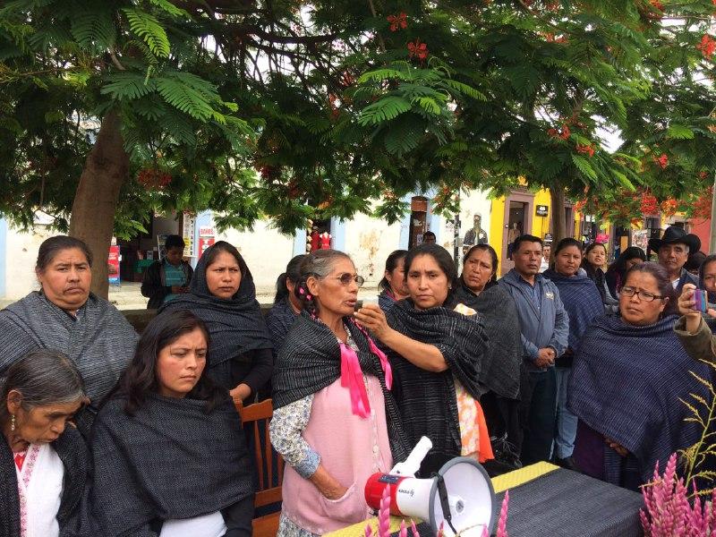 Gobierno de Oaxaca debe garantizar la vida e integridad física de mujeres retenidas en la Sierra Mixe