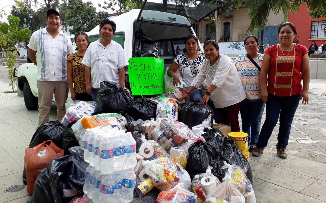 Ante el desastre, Oaxaca se organiza