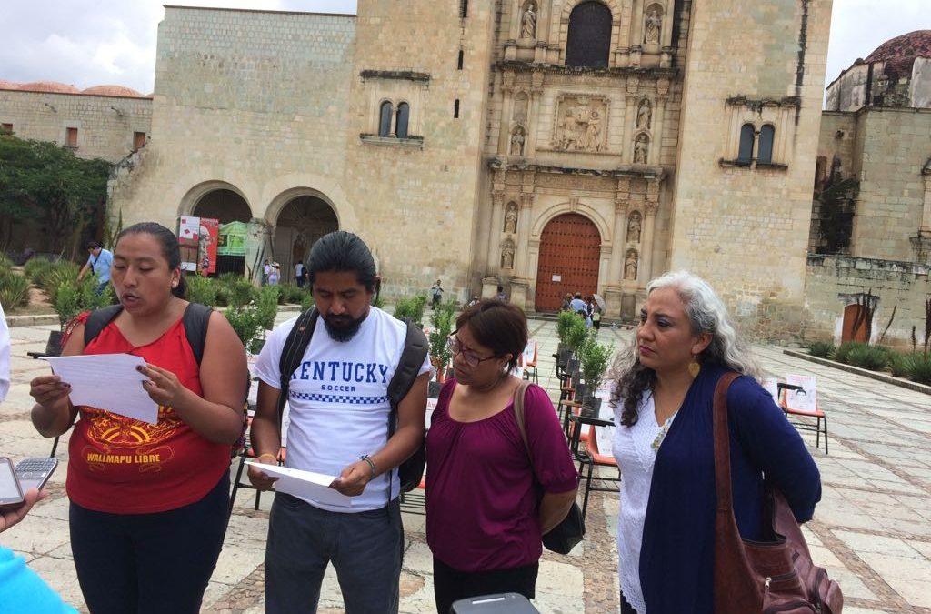 Espacio Civil de Oaxaca exige verdad y justicia para el caso Ayotzinapa