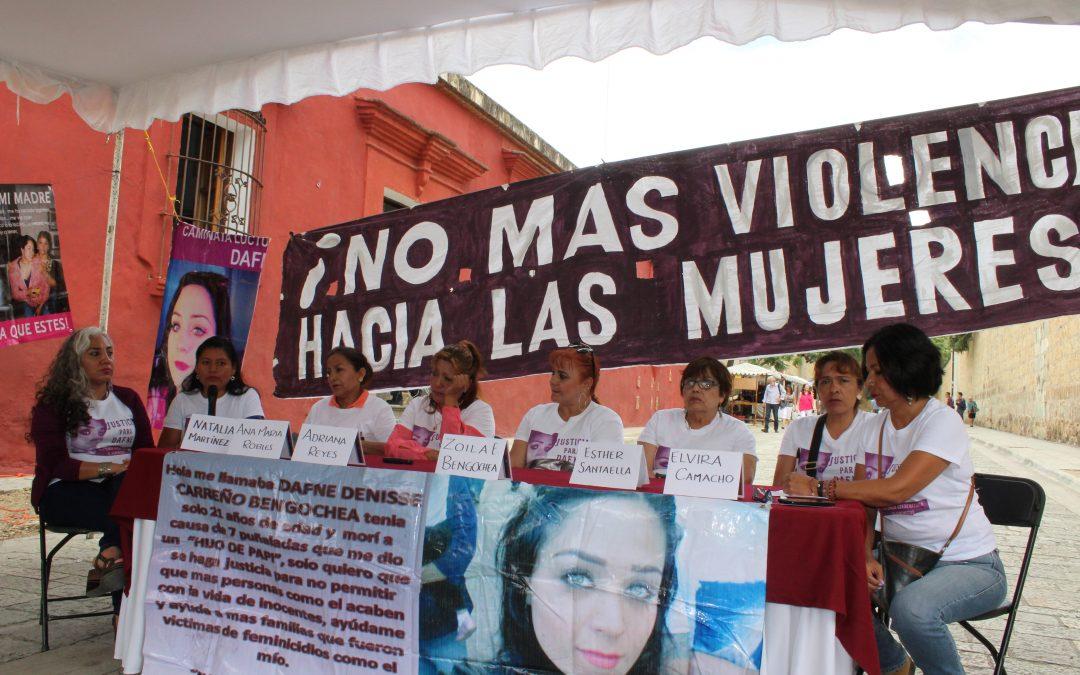 ¡Justicia para Dafne! ¡Sentencia condenatoria al feminicida!