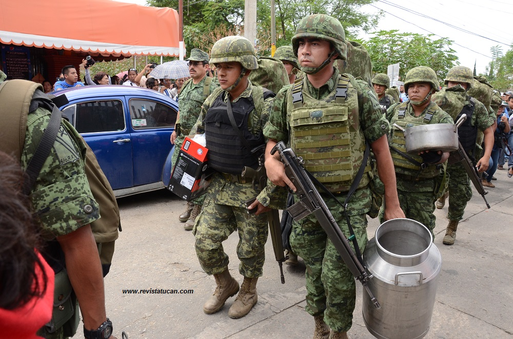 Organizaciones civiles de Oaxaca exigimos destitución del titular de la DDHPO por pedir militarización en el Istmo