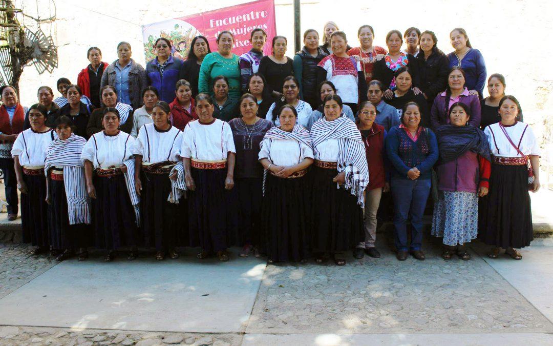 Encuentro entre mujeres autoridades y líderes en Tamazulapam