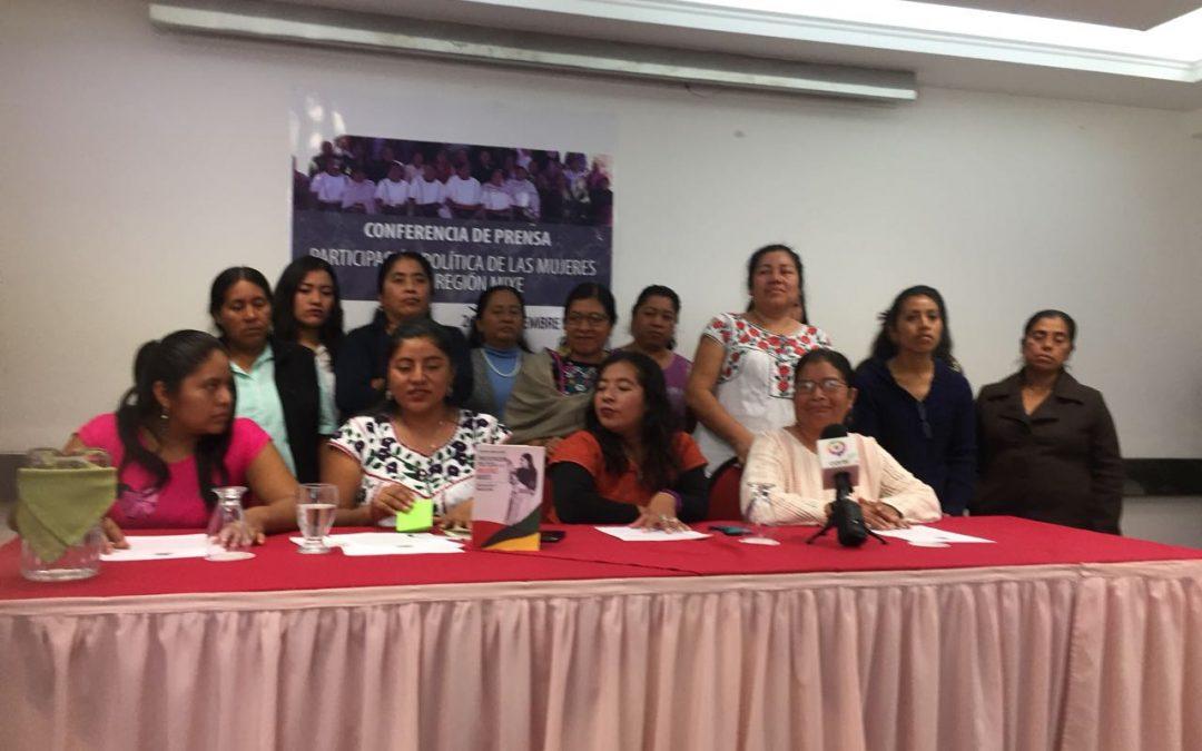 Mujeres Ayuuk lanzan plataforma sobre participación política comunitaria