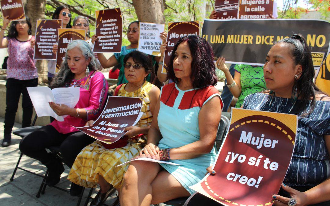 Evidenciada la impunidad de la violación sexual  en Oaxaca por el Poder Judicial