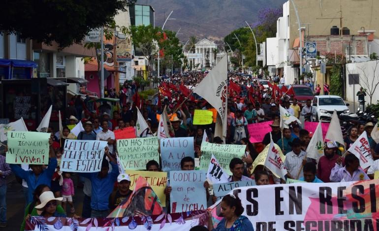 La sociedad civil de Oaxaca exigimos la inmediata presentación con vida de Ernesto Sernas García