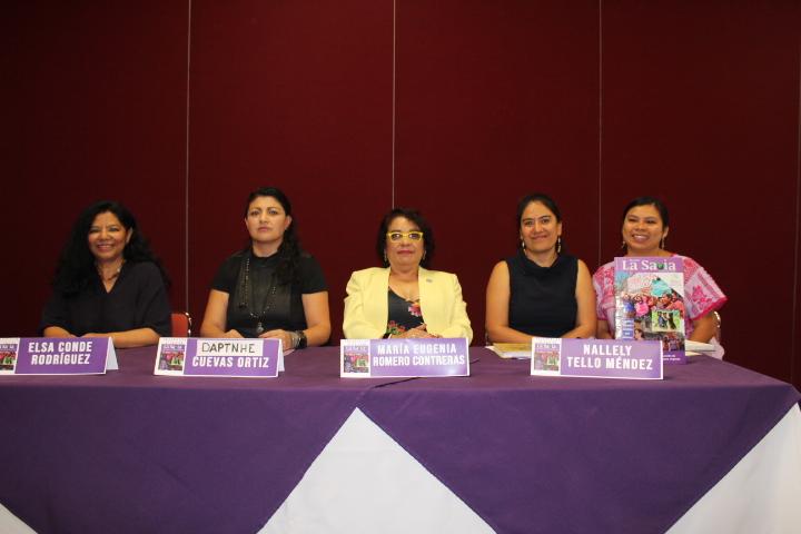 Presentación de la 9ª edición de la Revista La Savia