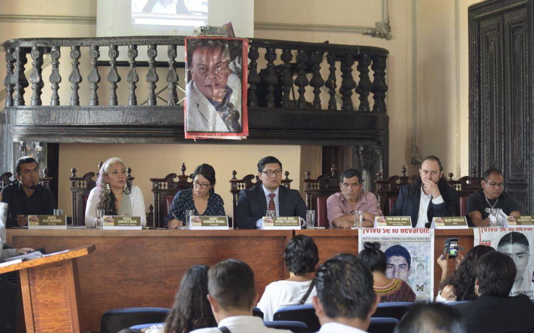 Denunciamos falta de avances en la investigación de la desaparición de Ernesto Sernas