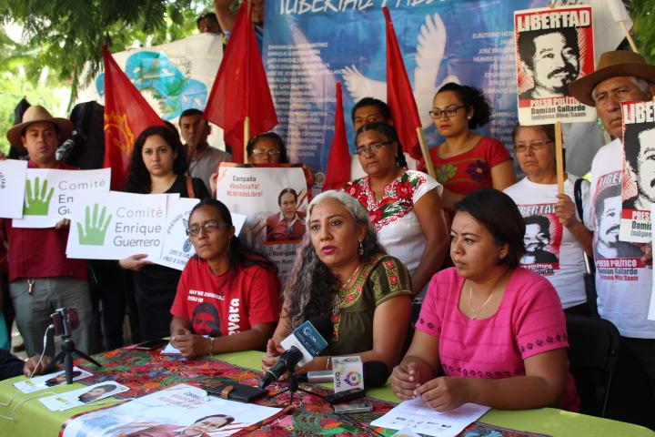 Coordinación para la Libertad de Personas Defensoras Criminalizadas en Oaxaca, solicita a AMLO justicia para 33 defensores/a integrantes del movimiento social criminalizados por su labor