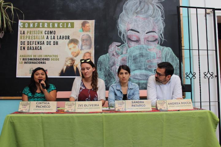 Front Line Defenders urge liberación inmediata de defensores de derechos humanos criminalizados durante el sexenio