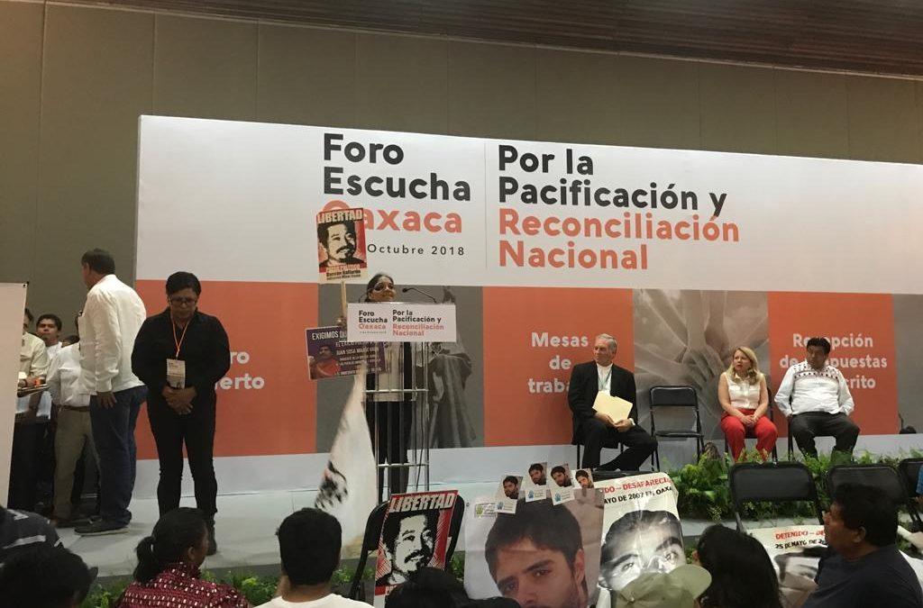 Comunicado: La libertad de las personas defensoras criminalizadas en Oaxaca, una condición imprescindible para la pacificación del estado