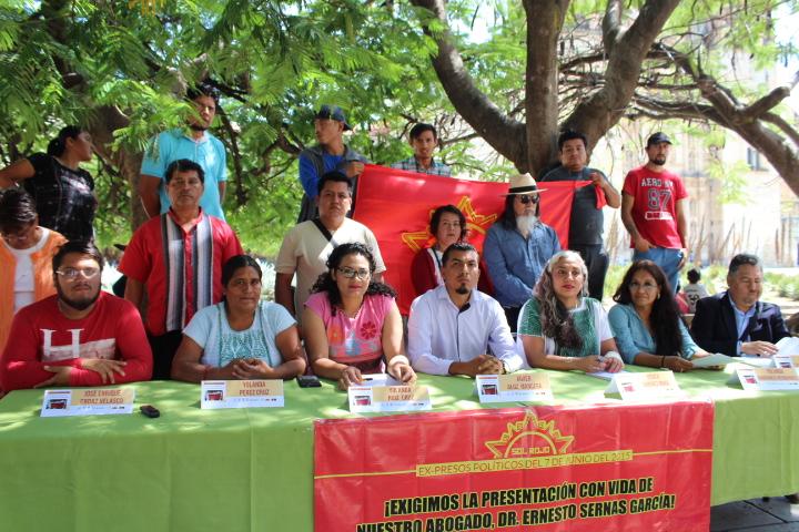 Defensores de DH integrantes de la organización Sol Rojo en libertad mediante sentencia absolutoria, luego de tres años de proceso judicial