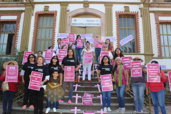 PRONUNCIAMIENTO  Deja EPN el peor contexto de violencia contra las mujeres en México