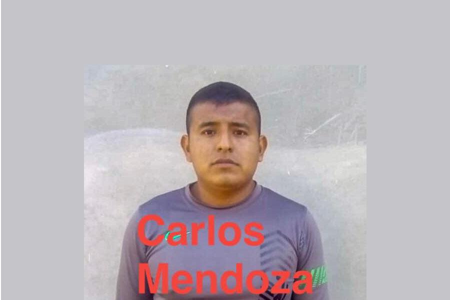 Exigimos presentación inmediata del defensor de DH desparecido Carlos Mendoza Ramos, dirigente de la UCIN en la región chinanteca de Oaxaca
