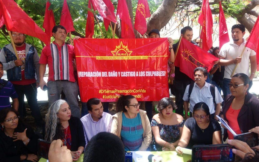 Denuncian incumplimiento del gobierno de Oaxaca a recomendación por violación a derechos humanos contra personas defensoras