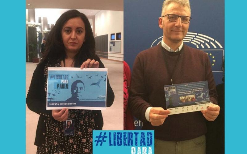 15 Eurodiputadxs se suman a la exigencia de libertad para el defensor oaxaqueño  Pablo López Alavez