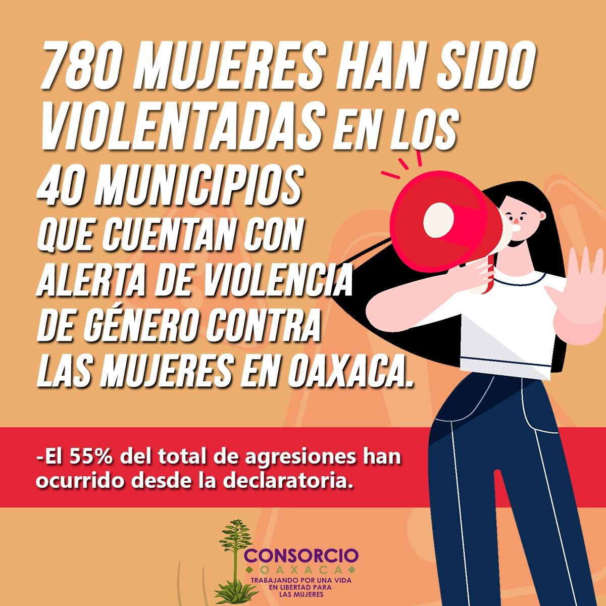Violencia feminicida en los 40 municipios con AVGM
