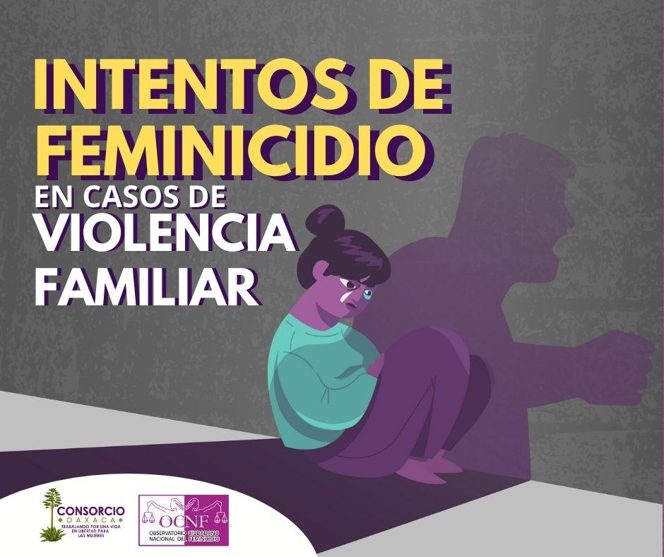 Intento de feminicidio representa 10% de la violencia familiar en Oaxaca