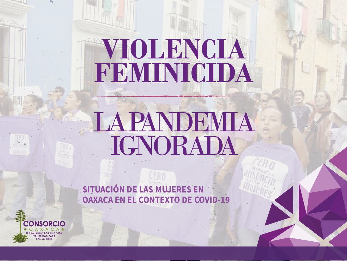 Mediante informe a Naciones Unidas, alerta Consorcio Oaxaca sobre agudización de la violencia feminicida y deficiente respuesta estatal durante Covid 19 en Oaxaca