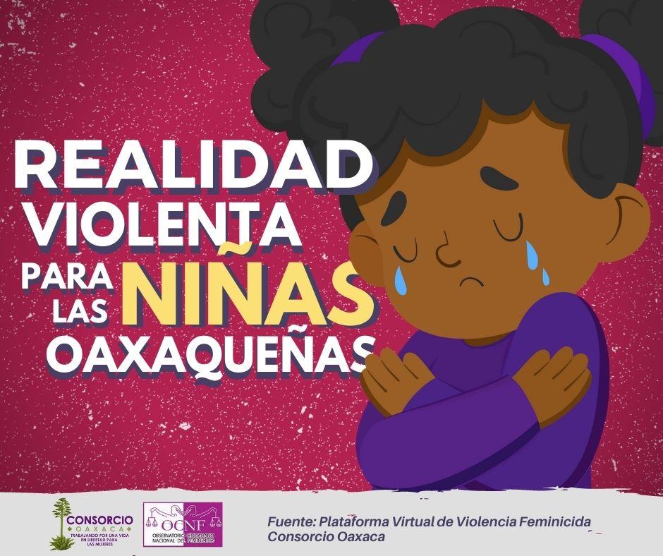 Realidad violenta para las niñas oaxaqueñas