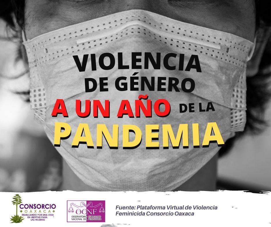 Un año de pandemia en Oaxaca, deja un saldo de 400 desaparecidas y 99 feminicidios.
