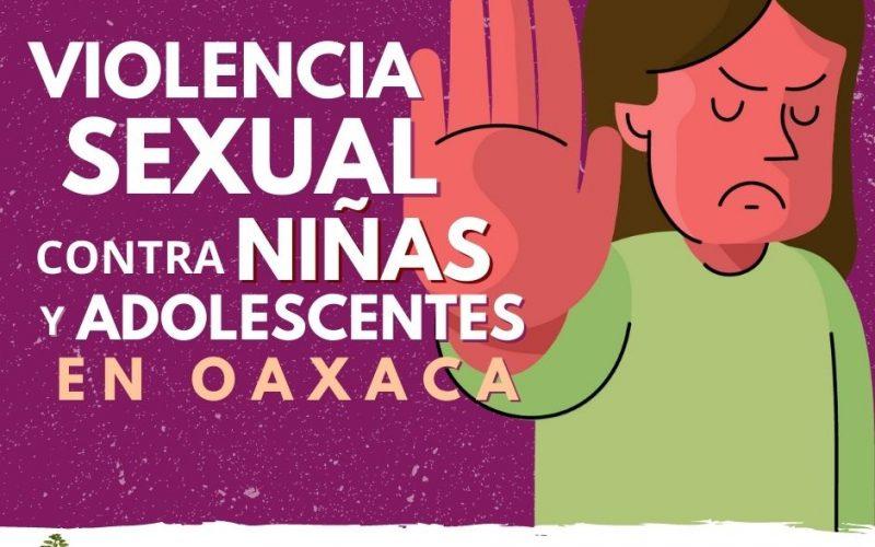 Violencia sexual incrementa 9% en niñas y adolescentes durante confinamiento en Oaxaca