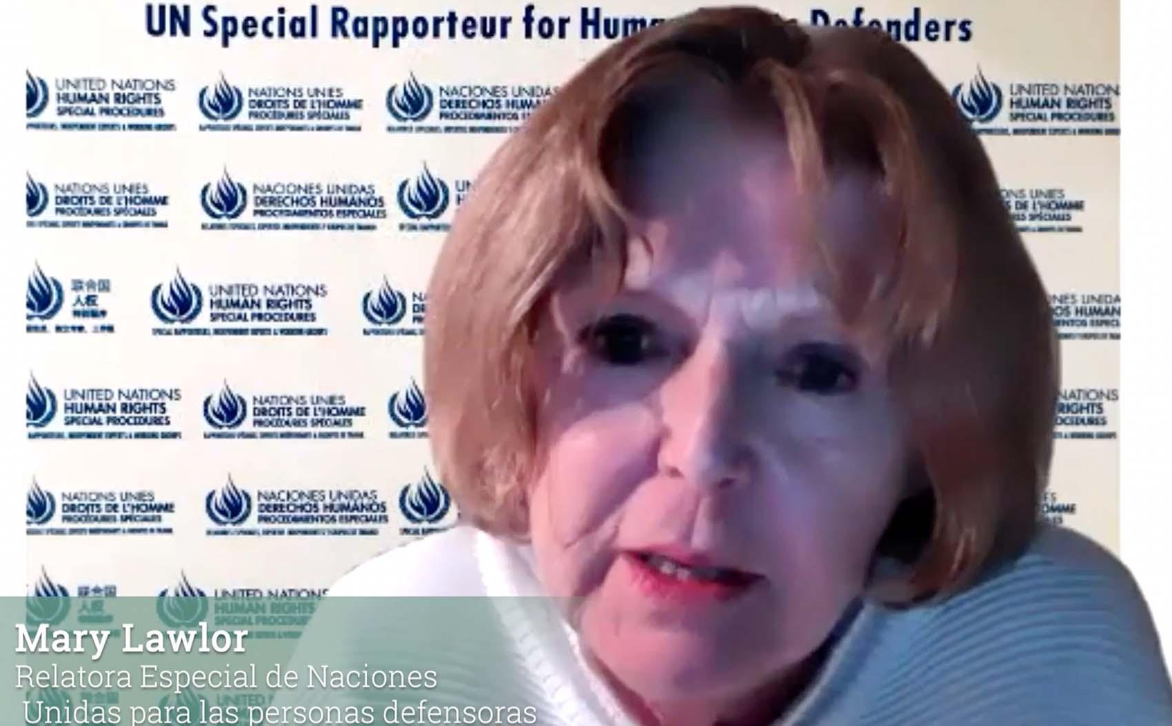 México es uno de los países donde más personas defensoras son asesinadas, Relatora Especial de la ONU