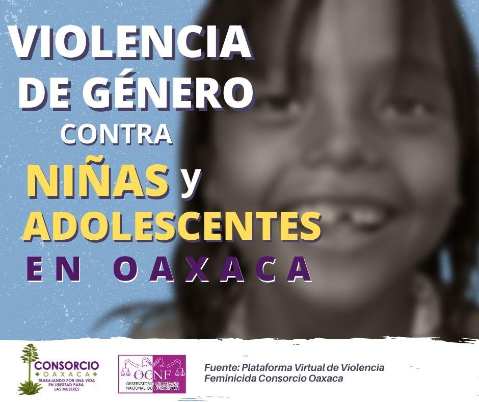 Valles centrales región con más agresiones en contra de niñas y adolescentes
