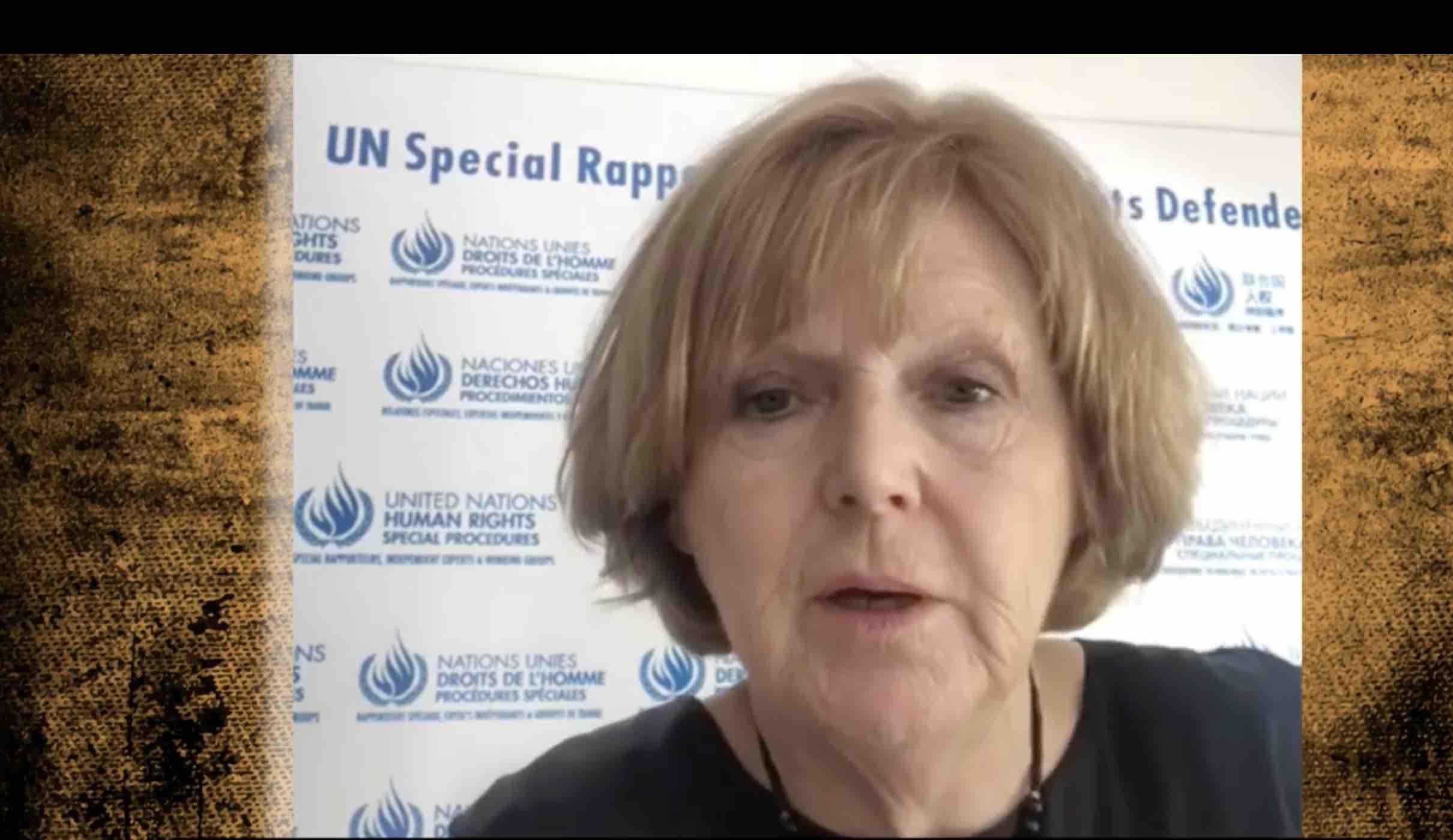 Relatora de la ONU hace un llamado a las autoridades mexicanas a garantizar la seguridad de Soledad Jarquín