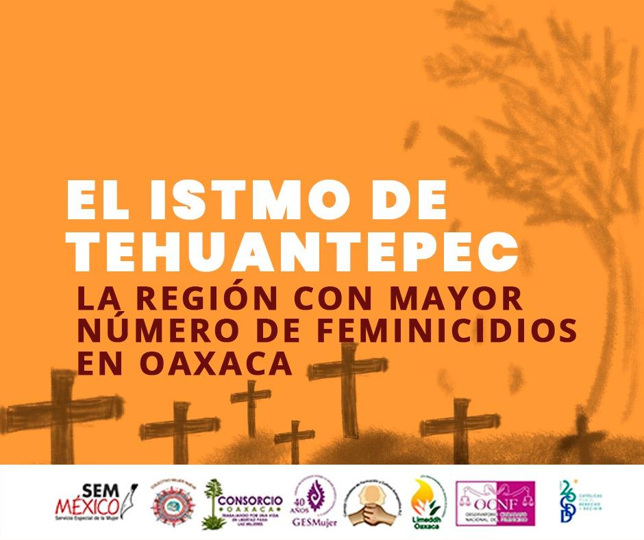 Istmo de Tehuantepec, la región que más feminicidios acumula durante el sexenio de Murat