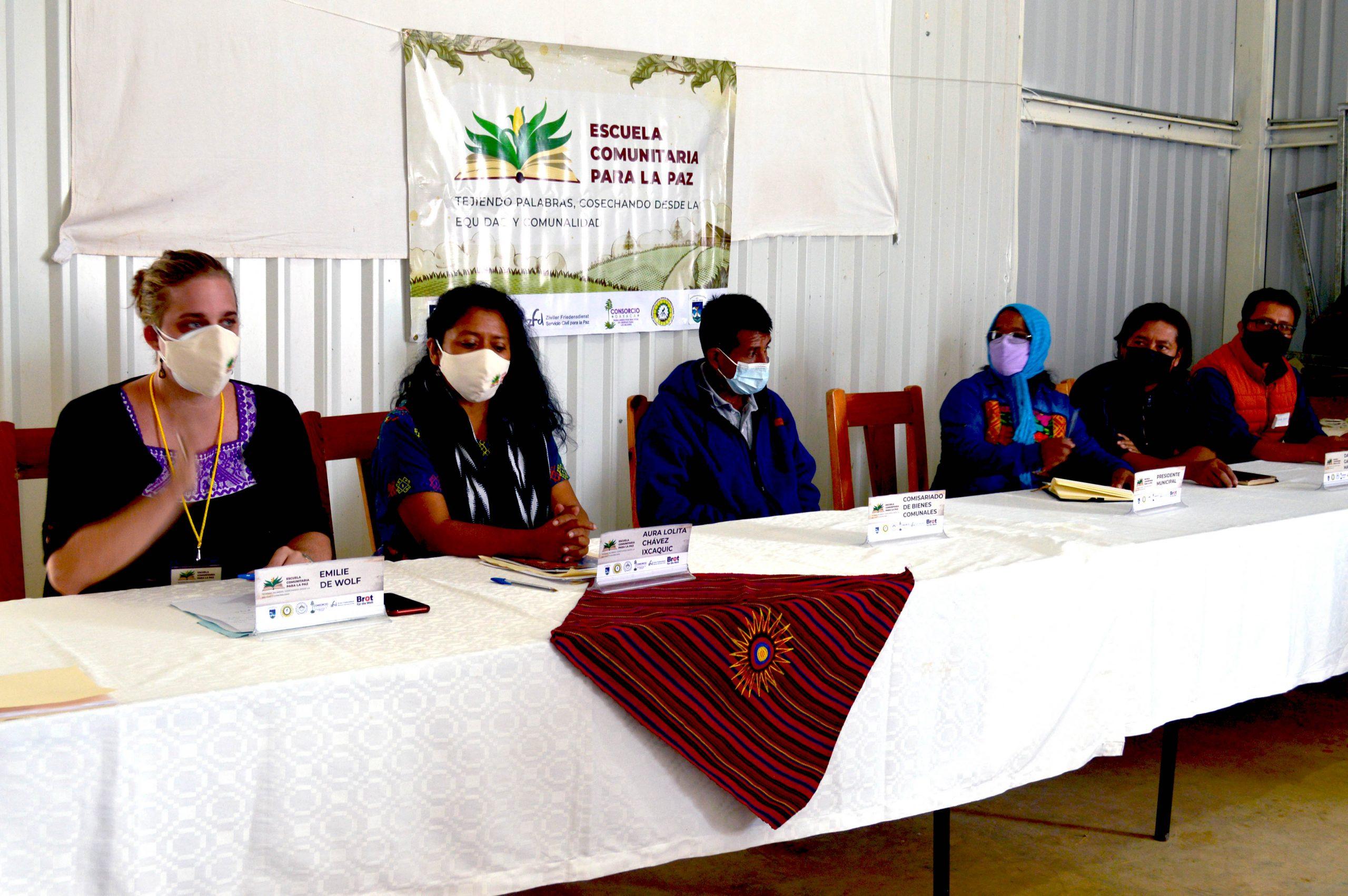 Arranca Escuela Comunitaria para la Paz en Región Mixe-Choapam