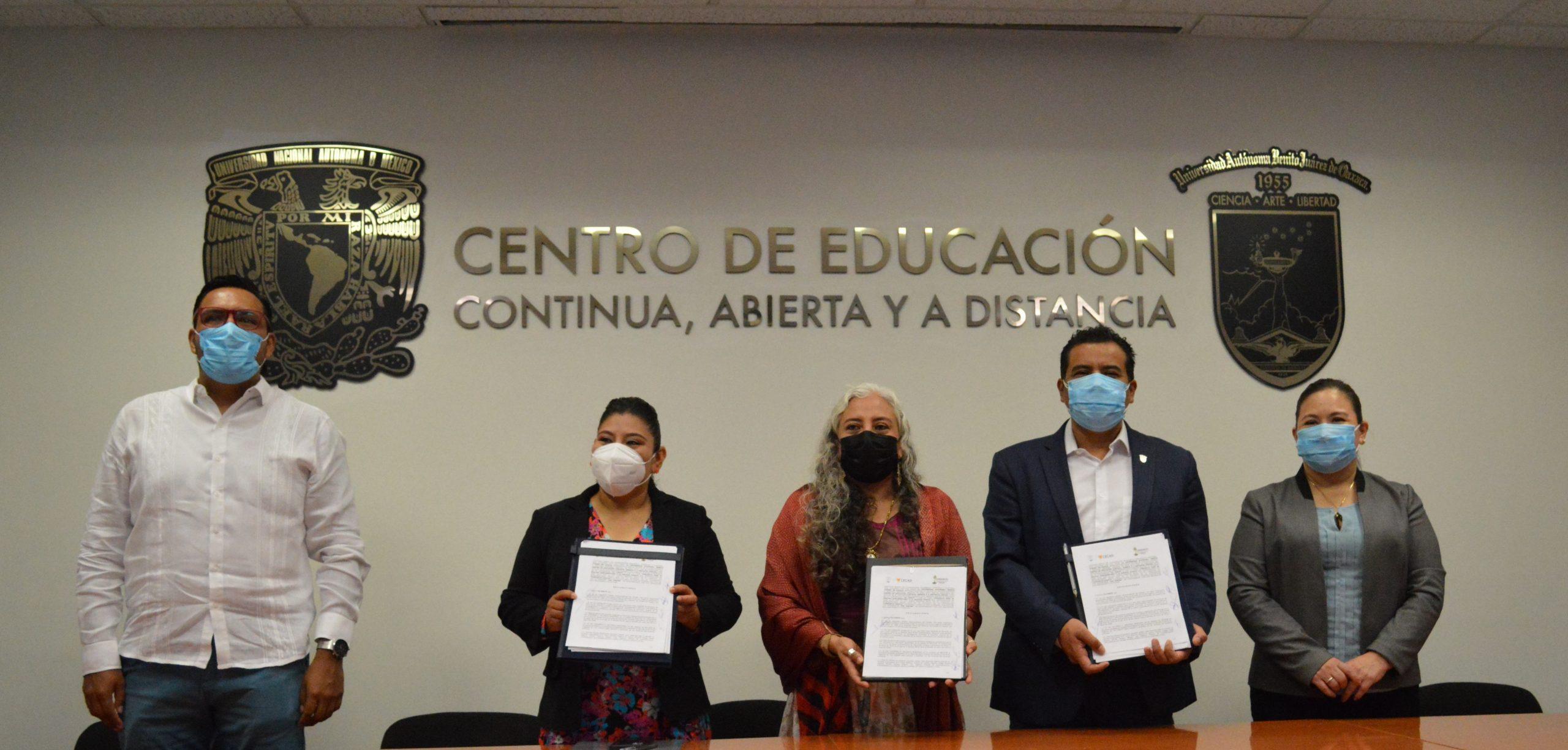 Consorcio Oaxaca y la UABJO suman esfuerzos para formar litigantes que contribuyan al acceso a la justicia