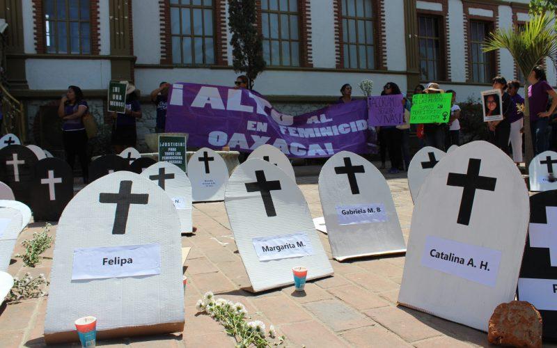 <strong>Consorcio Oaxaca condena los feminicidios en la entidad</strong>